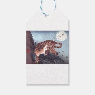 Herbst-Tiger Geschenkanhänger