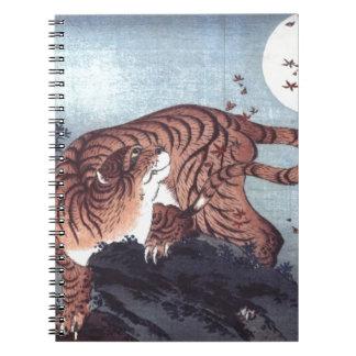 Herbst-Tiger Notizblock