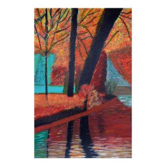 Herbst-Träume Briefpapier