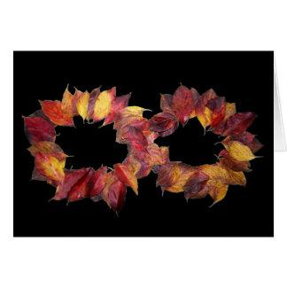 Herbst-Unendlichkeit Karte