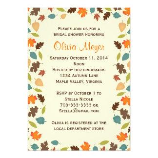 Herbst verlässt BrautPolterabend-Einladungen