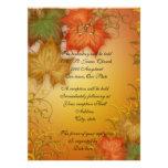 Herbst verlässt Hochzeit im Herbsts-Einladung groß