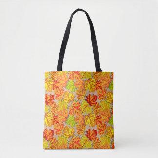 Herbst verlässt kundenspezifische Taschen-Tasche Tasche