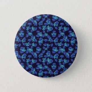 Herbst verlässt Motiv-Muster Runder Button 5,7 Cm