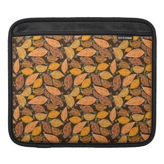 Herbst verlässt Muster Sleeve Für iPads