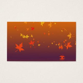 Herbst Visitenkarte