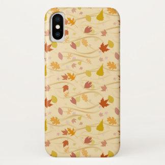 Herbst-Wind-Hintergrund iPhone X Hülle