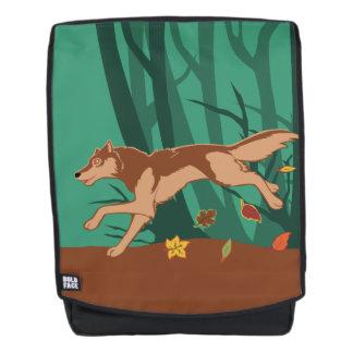 Herbst-Wolf Rucksack