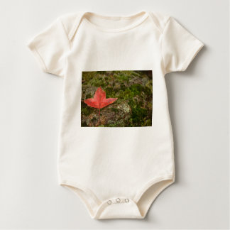 Herbstblatt Baby Strampler