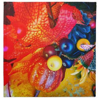 Herbsteindruck Stoffserviette