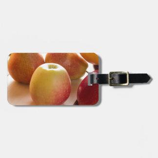 Herbsternte der Äpfel und der Birnen Kofferanhänger