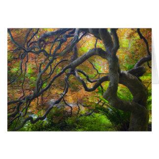 HerbstfarbeAhornbäume, Victoria, Briten 3 Karte