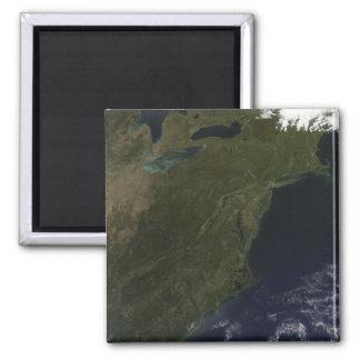 Herbstfarben in den nordöstlichen Vereinigten Quadratischer Magnet