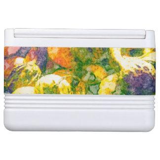 Herbstfarben machen cooleres ein kühlbox