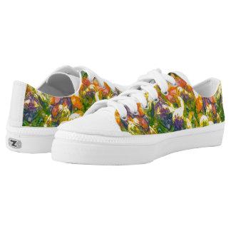 Herbstfarben-Turnschuhe Niedrig-geschnittene Sneaker