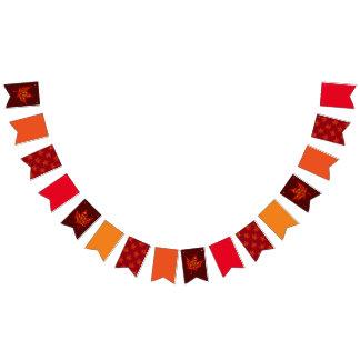 Herbstfarben Wimpelketten