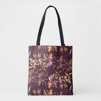 Herbstfarblaubdruck Tasche