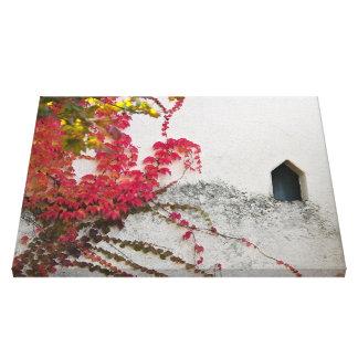 Herbstimpression Galerie Gefaltete Leinwand