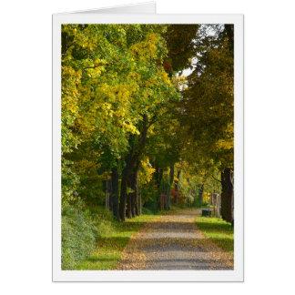 Herbstimpression Karten