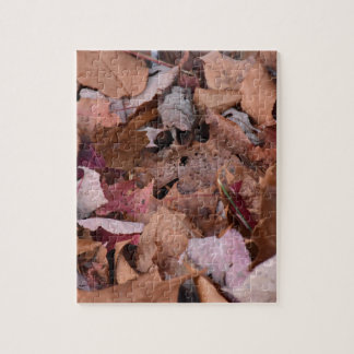 Herbstlaub in den rauchigen Bergen Puzzle