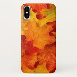 Herbstlaub iPhone X Hülle