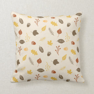 Herbstlaub-Muster-Herbst-Wurfs-Kissen Kissen