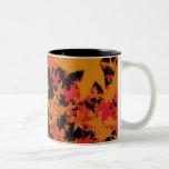 Herbstlaub Teetasse