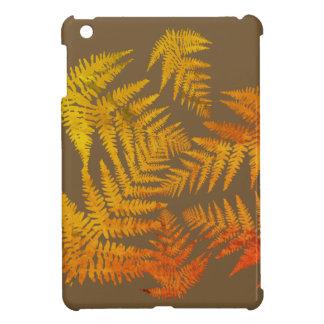 Herbstliche Farne iPad Mini Hülle