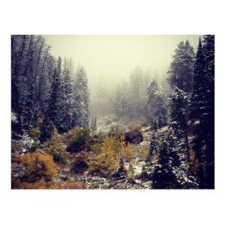 Herbstliche Nebel I Postkarte