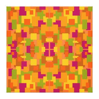 Herbstlicher Flecken 2 ein Fraktal Leinwanddruck