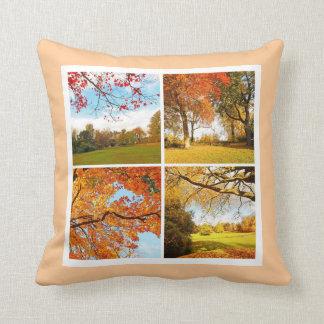 Herbstliches schönes Kissen