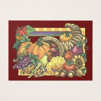 Herbstsaison-Einschließungs-Karte/Umbau - SRF Jumbo-Visitenkarten