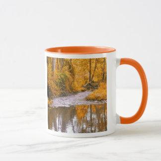 Herbststrom-Kaffee-Tasse Tasse