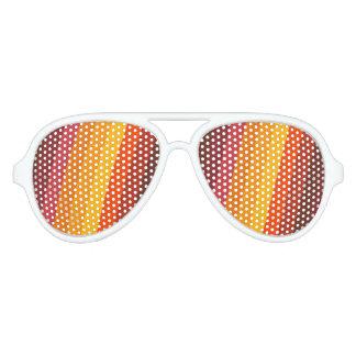 Herbstsun-Gläser Piloten Sonnenbrillen
