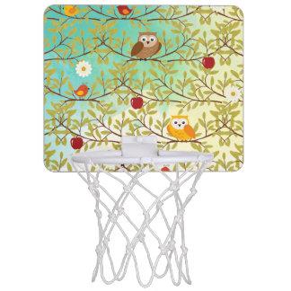 Herbstvögel Mini Basketball Netz