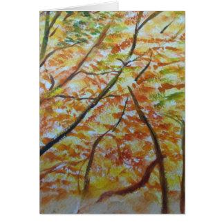 Herbstweise Karte