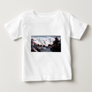 Herde der Gebirgsyak Himalaja Baby T-shirt