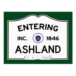 Hereinkommendes Ashland Postkarte