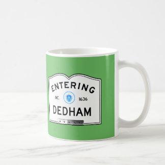 Hereinkommendes Dedham Kaffeetasse