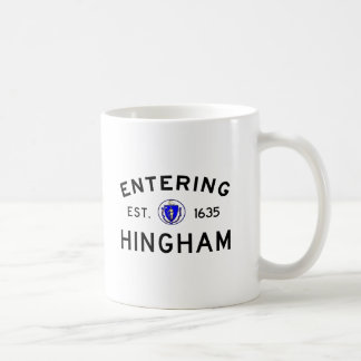 Hereinkommendes Hingham Kaffeetasse