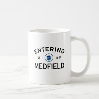 Hereinkommendes Medfield Kaffeetasse