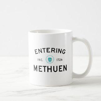 Hereinkommendes Methuen Kaffeetasse