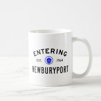 Hereinkommendes Newburyport Kaffeetasse