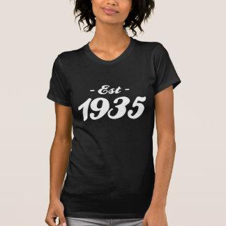 hergestellt 1935 - Geburtstag T-Shirt