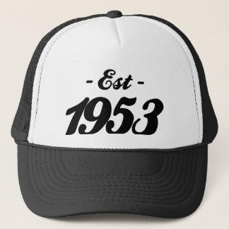 hergestellt 1953 - Geburtstag Truckerkappe