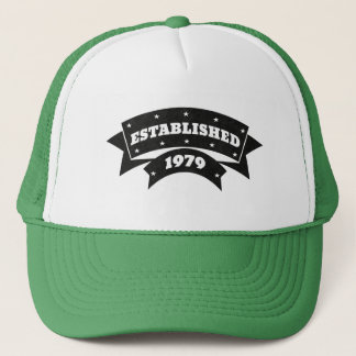 Hergestellt 1979 Hut-Kappen Truckerkappe