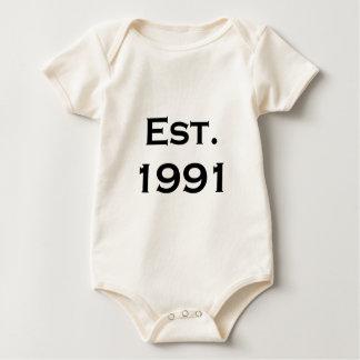 hergestellt 1991 baby strampler