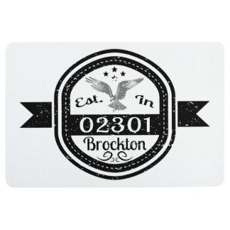 Hergestellt in 02301 Brockton Bodenmatte