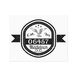 Hergestellt in 06457 Middletown Leinwanddruck
