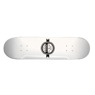 Hergestellt in 10023 New York City 21,6 Cm Skateboard Deck